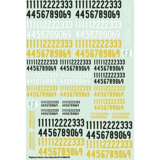 SwAF numbers 1935-63, bold