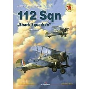 112 Sqn Shark Squadron 1939-41 incl. photo etch set. OUT OF PRINT