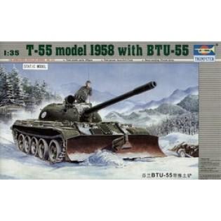 T-55 with BTU-55