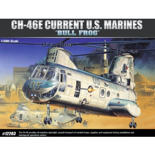 CH-46E US Marines Bull Frog (Chinook)