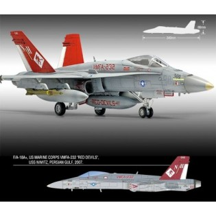 F/A-18+ Hornet VMFA-232 Red Devils