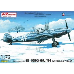 Bf109G-6/U/N4 with FuG 350 Naxos