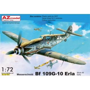 Bf109G-10 Erla, Block 49 early