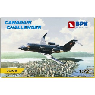 Canadair Challenger incl. photoetch & resin