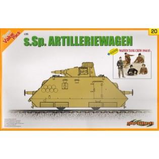 s.Sp.Artilleriewagen w. Waffen Tank Crew