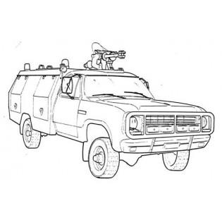 Dodge Räddningsbil Rtgb 922