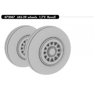 Saab JAS39 Gripen wheels (REV)