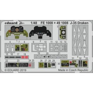SAAB J35F/J Draken interior s.adh COLOUR