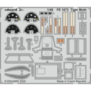 Tiger Moth detail set (Airfix)