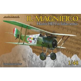 MAGNIFICO Hanriot HD.I in Italian service