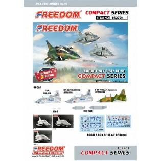 Northrop F-5E/F-5F/RF-5E Tiger - 3 Kits