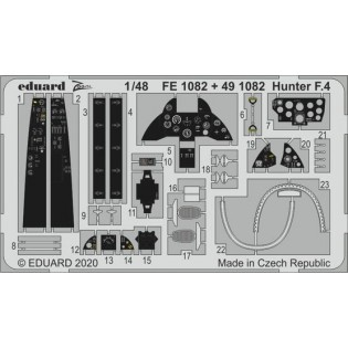 Hawker Hunter detail set (Airfix)
