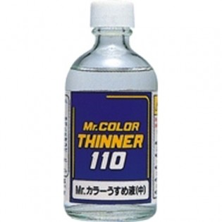 Mr. Color, 110 ml thinner (lack & acryl)