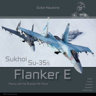 Sukhoi Su-35S Flanker E by Duke Hawkins