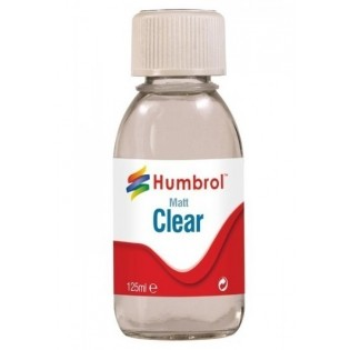 Clear Matt Varnish 125ml