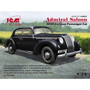 Admiral Saloon, WWII German Passenger Car.