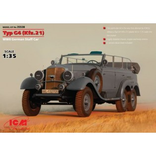 Typ G4 (Kfz.21), WWII German Staff Car