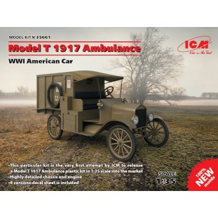 Model T 1917 Ambulance NEW MOLDS