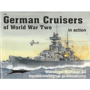 German Cruisers of WWII in Action