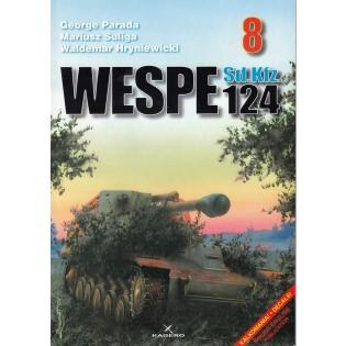 Wespe SdKfz 124, Photosnajper 8, bilingual Pol / Eng (no decals)