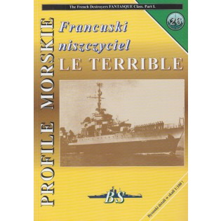 French Destroyer LE TERRIBLE