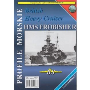 Heavy cruiser HMS FROBISHER