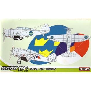 Seversky 2PA-L Model 204A SwAF B6