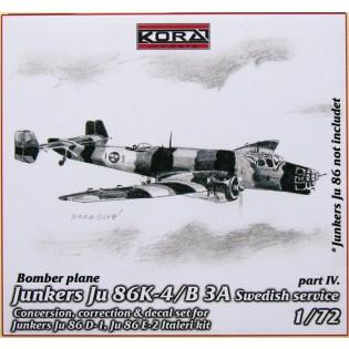 Ju86K-4 SwAF B3A Conversion set part 4