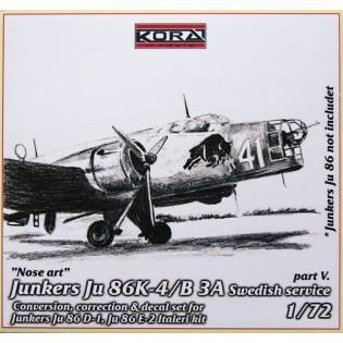 Ju86K-1 SwAF B3A Conversion set part 5