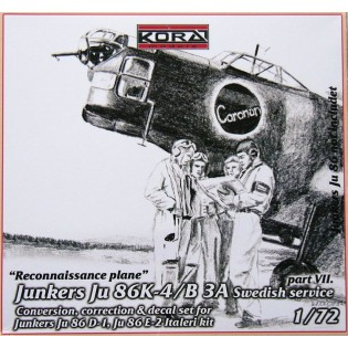 Ju86K-4 SwAF B3A Conversion set part 7