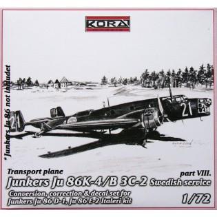 Ju86K-4 SwAF B3C-2 Conversion set part 8