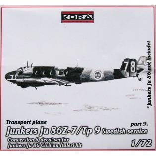 Ju86Z-7 SwAF Tp9 Conversion set part 9