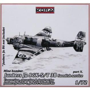 Ju86K-5 SwAF T3B Conversion set part 10