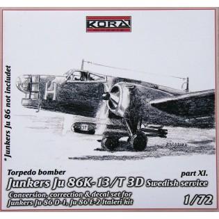 Ju86K-13 SwAF T3D Conversion set part 11