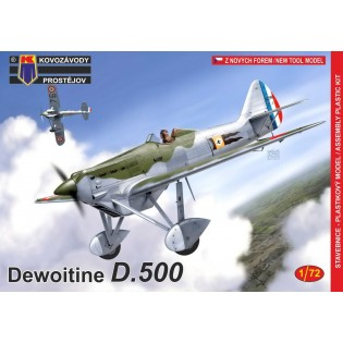 Dewoitine D.500 French Air Force NEW MOULD