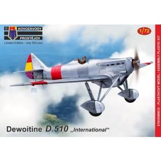 Dewoitine D.510 International NEW MOULD