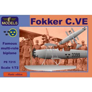 Fokker C.VE floatplane Sweden