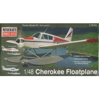 Piper Cherokee Float Plane (New Tooling)