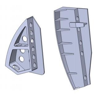 SAAB 32 Lansen airbrakes 3D print