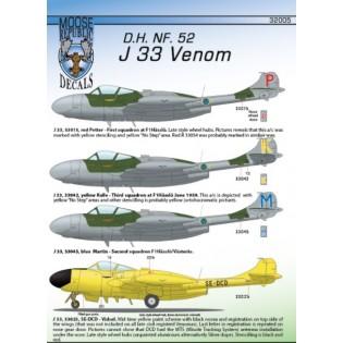J33 NF.52 Venom