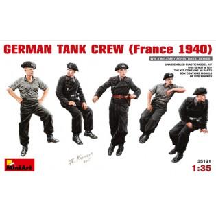 German Tank Crew, France 1940