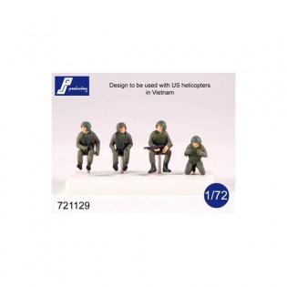 Helicopter crew (Vietnam war)