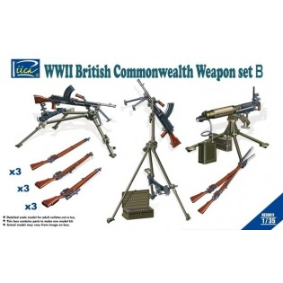 British Commonwealth Weapon Set B