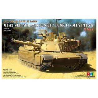 M1A2 Abrams TUSK I / TUSK II / M1A1 (3 in 1)