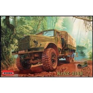 Soviet KrAZ-214B lorry. (Vietnam, USSR, CZ, PL, DDR, HU