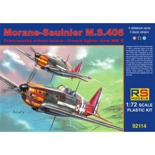 MS.406 4 decals; Vichy, Luftwaffe, Finland