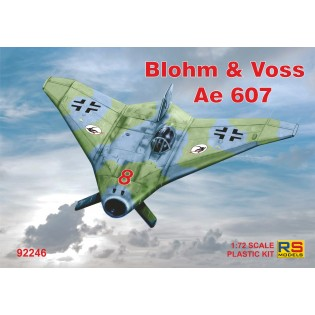 Blohm und Voss Ae607, 4 decal versions