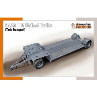 Sd.Ah 115 German tank transporter trailer