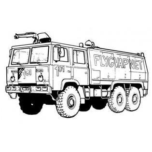 Volvo Räddningsbil Rtgb 4112