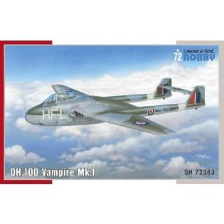 dH.100 Vampire Mk.1 RAF, RAAF & Arme de l'Air (SwAF)